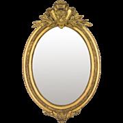 19th c. Napoleon III Gilded Mirror