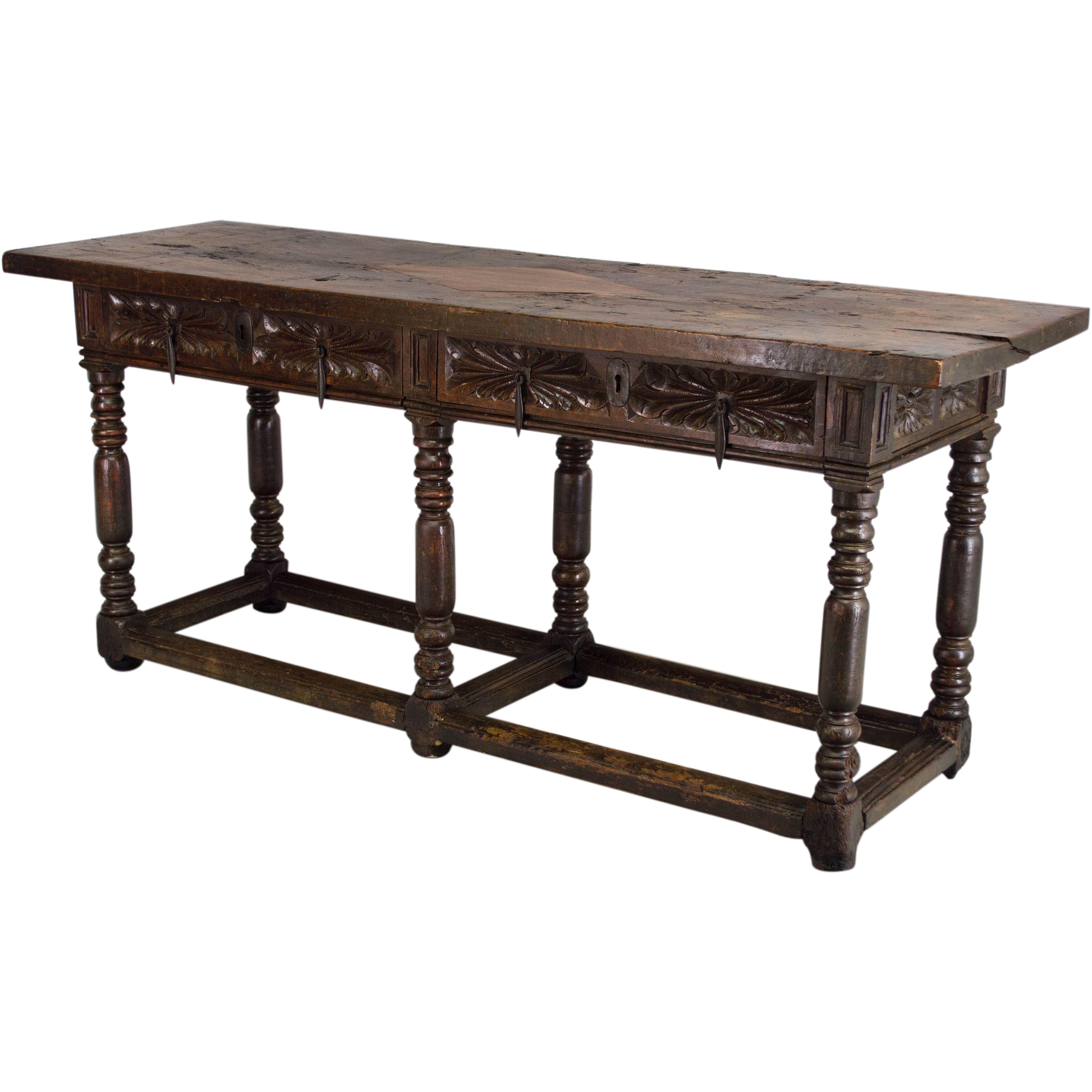 18th C. Spanish Baroque Console Table