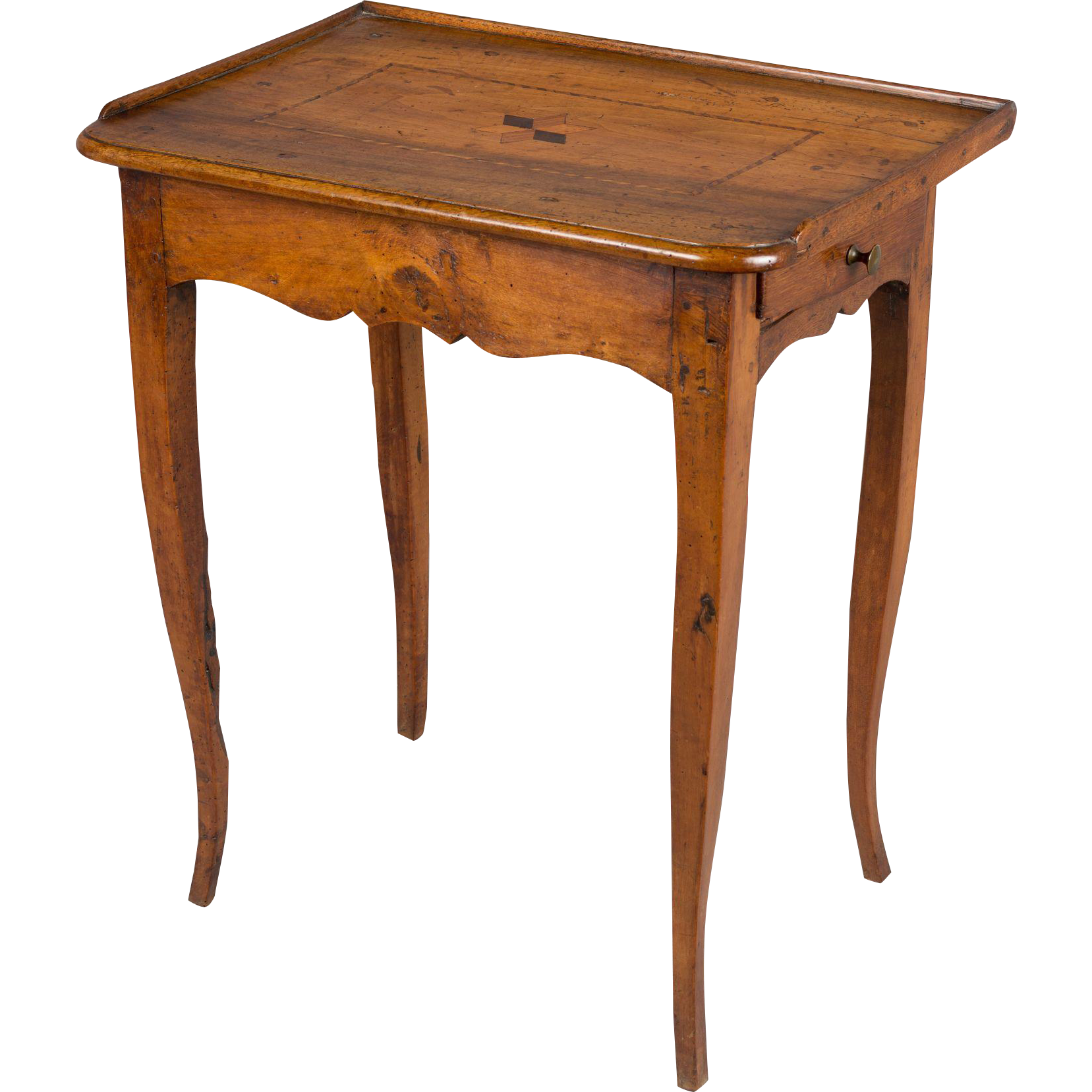 18th century louis xv side table from ofleury on ruby lane - Table louis xv ...