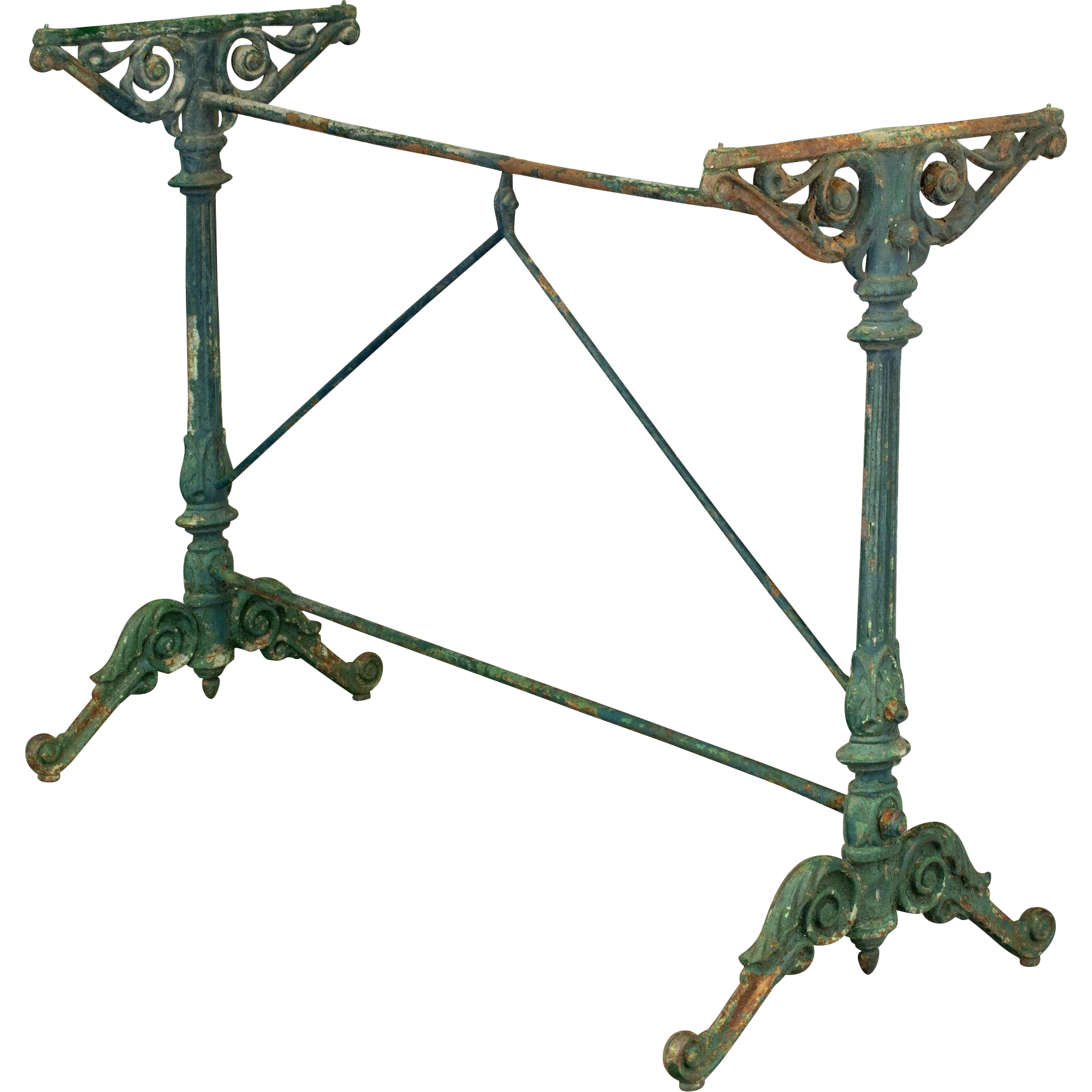 19th c. Italian Cast Iron Table Base
