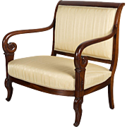 19th c. French Restauration Settee