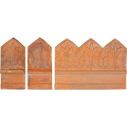 Set of 47 French Terracotta Garden Tiles