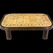 Roger Capron Ceramic Tile Coffee Table