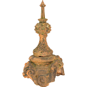 19th c. French Terra Cotta Roof Decoration
