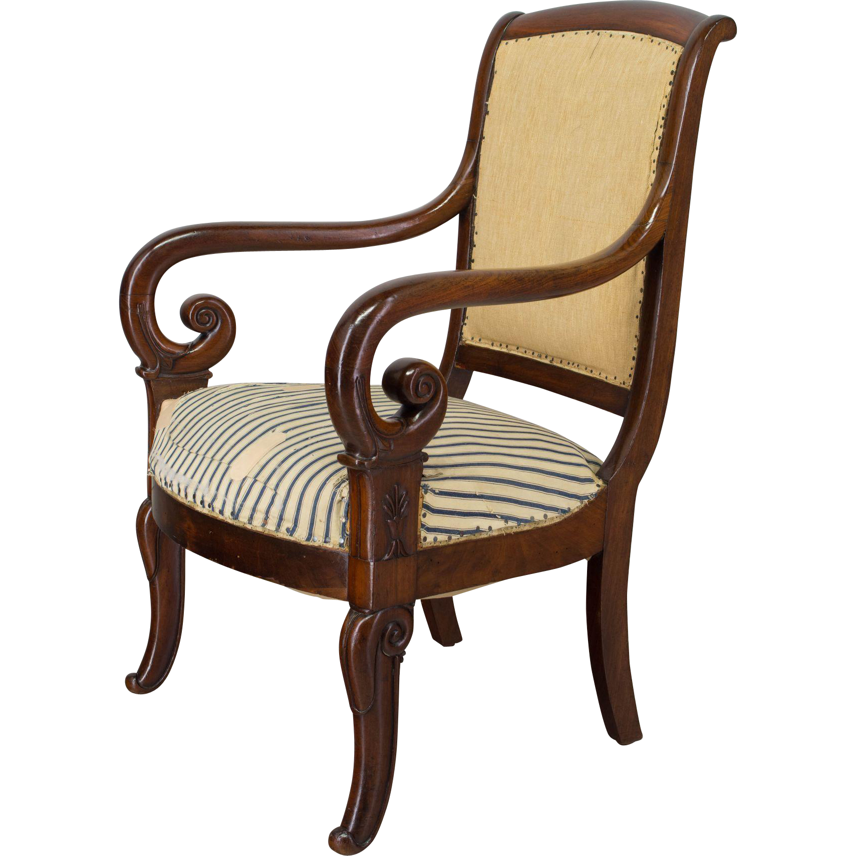19th c. French Restauration Armchair