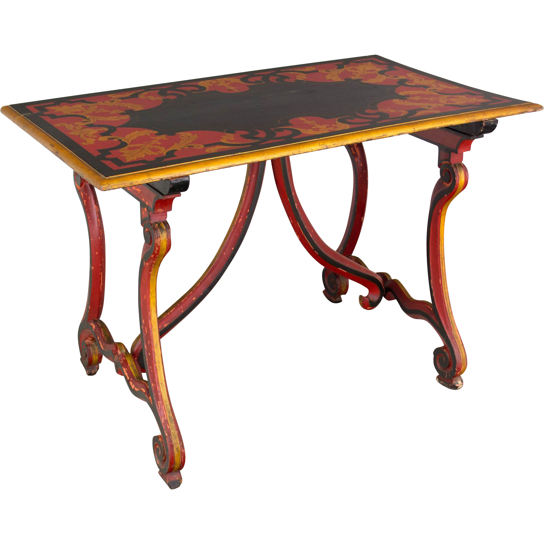 19th c. Spanish Baroque Style Table