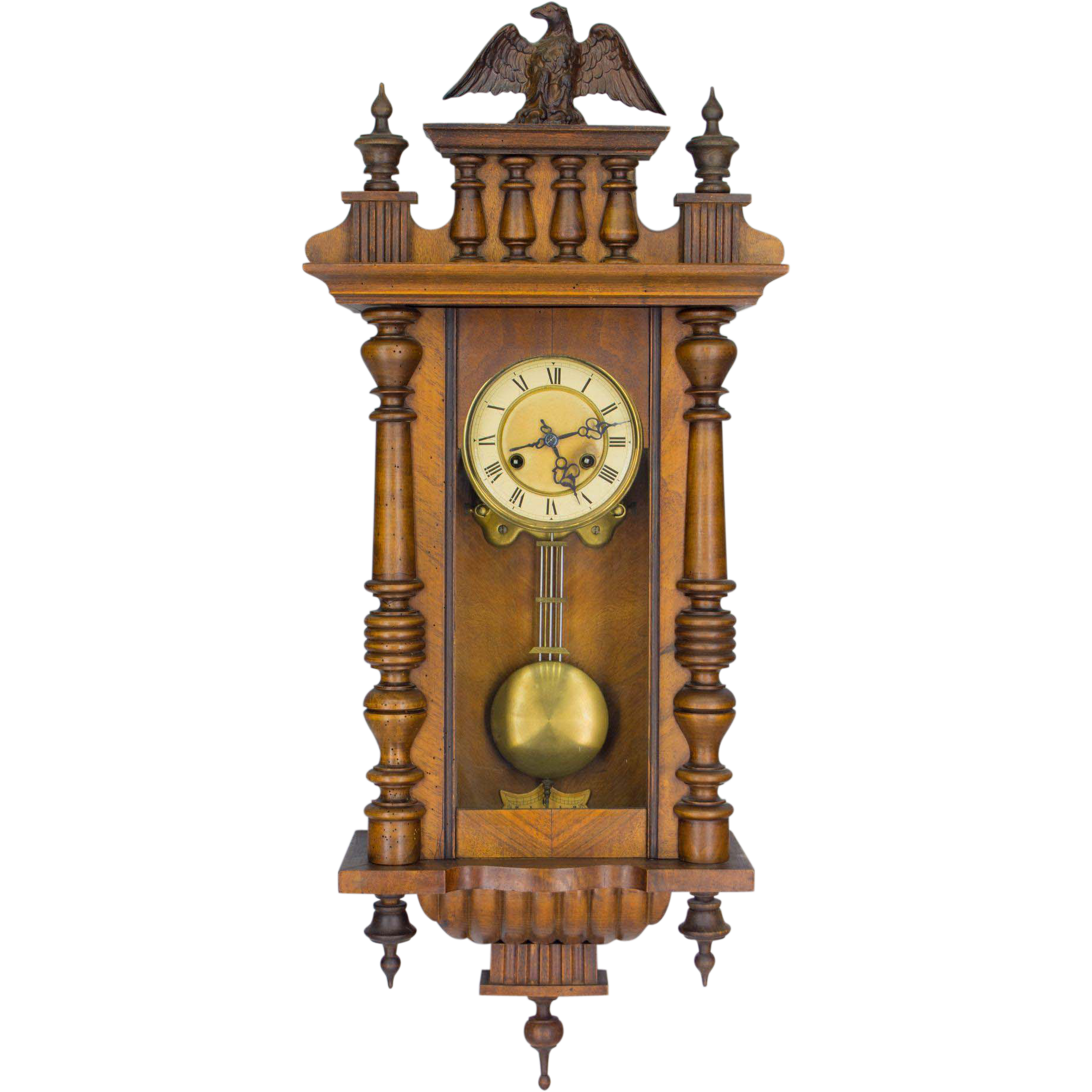 Swiss Regulator Or Wall Clock From Ofleury On Ruby Lane