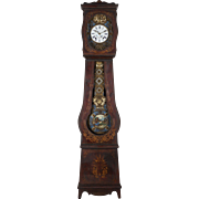 19th Century French Grandfather Clock or Comtoise