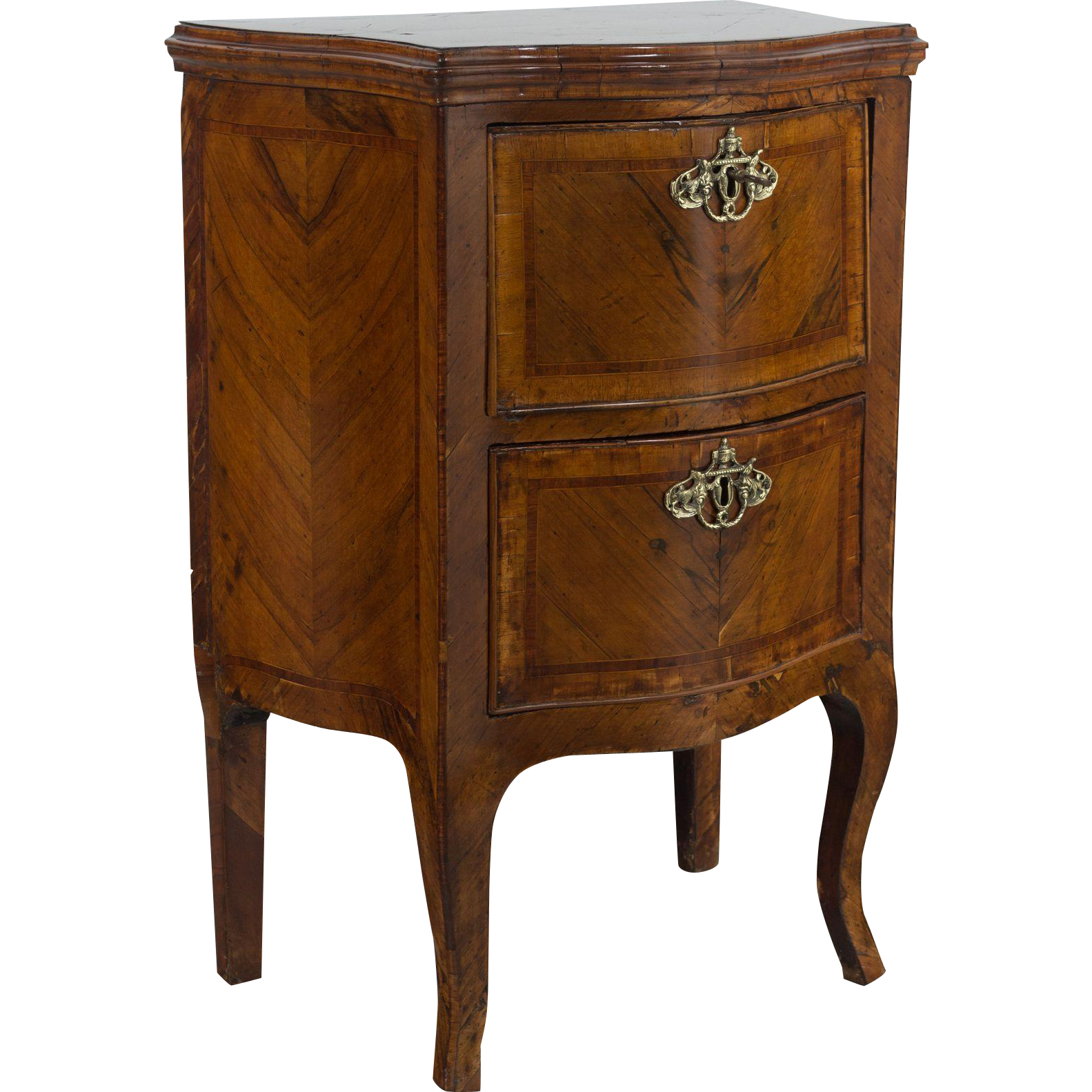 18th c. Italian Inlaid Commode