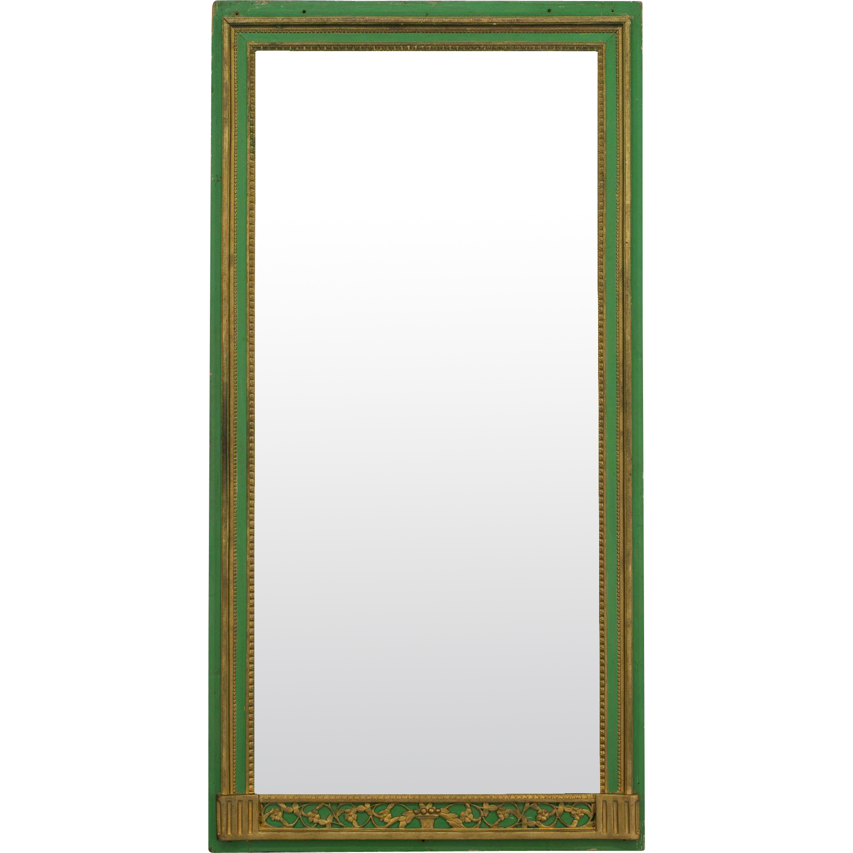 Large 19th c. French Trumeau Mirror