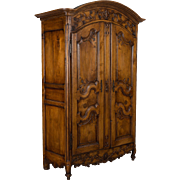 18th c. Louis XV Country French Armoire