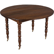 19th c. French Louis Philippe Drop Leaf Table