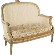 19th c. Louis XVI Style Canape