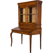 19th c. Country French Slant Top Desk