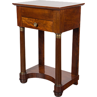 19th c. French Empire Side Table