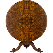 19th c. Louis-Philippe Tilt-Top Gueridon