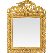 French Regence Style Gilded Mirror