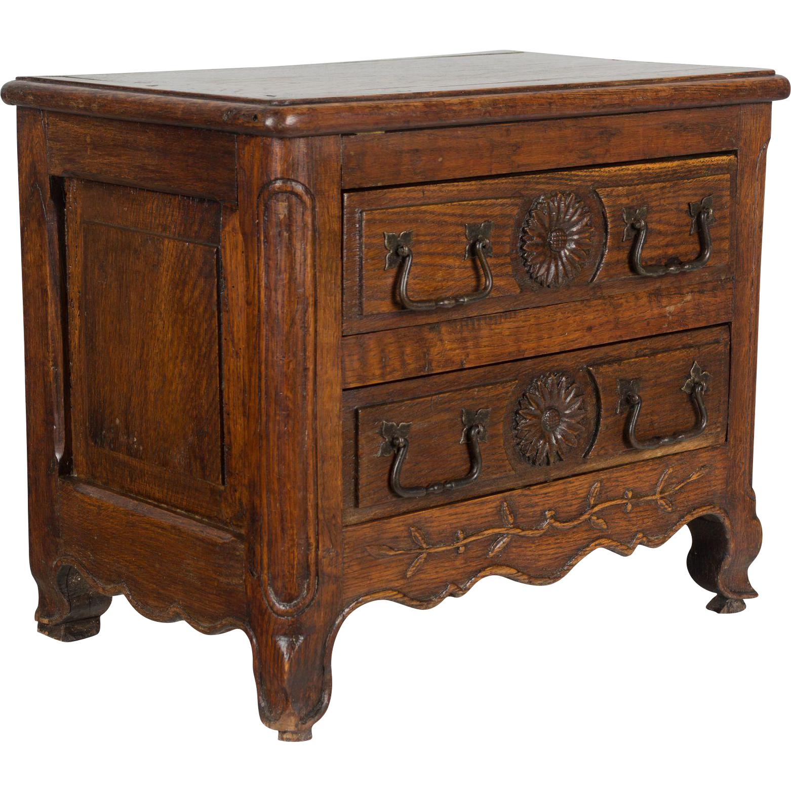 19th c. Louis XV Style Miniature Commode
