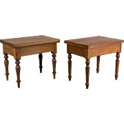 Pair of Small French Tables