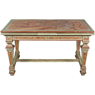 Italian Louis XIV Style Extension Table