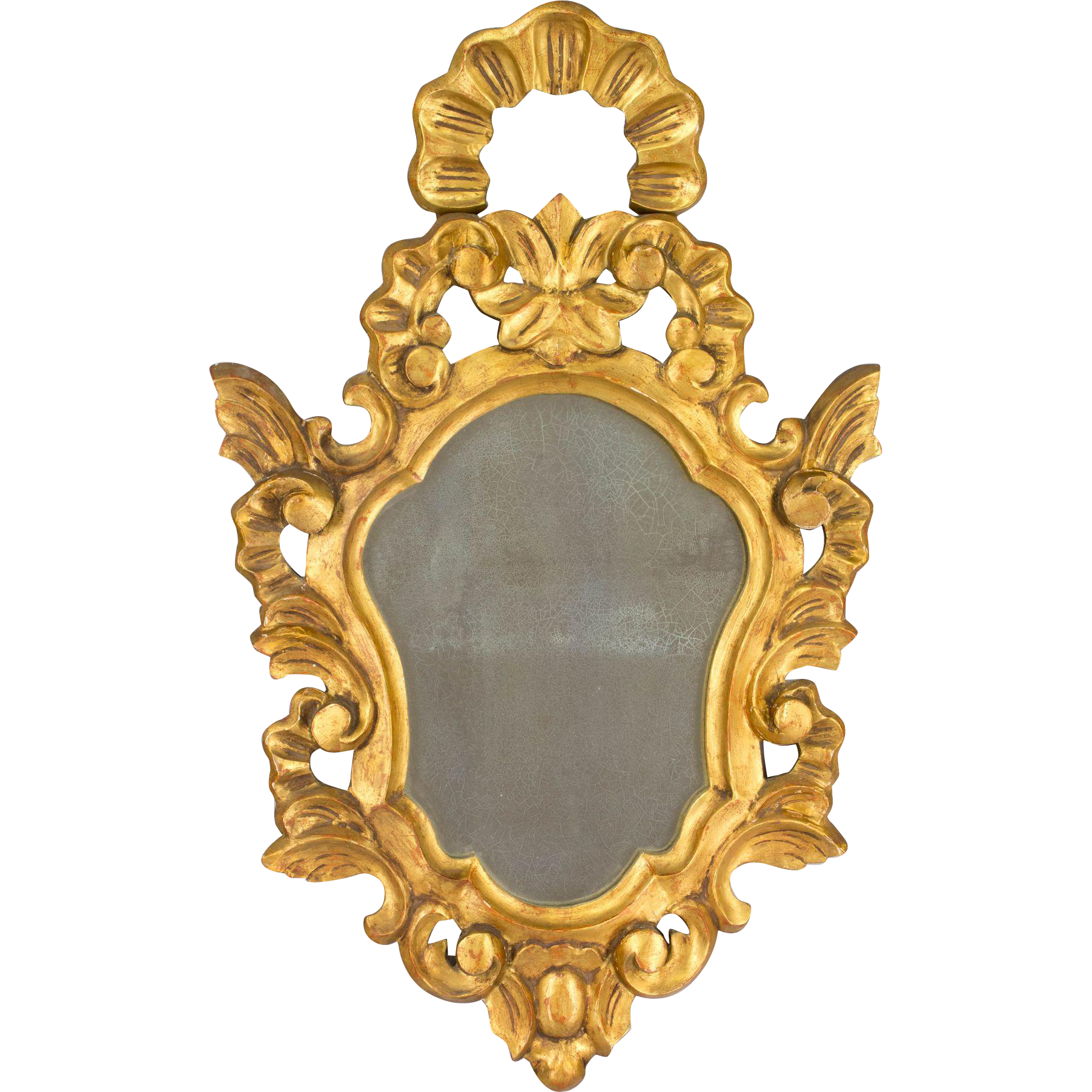 French Gilded Mirror