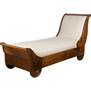 19th c. Louis Philippe Récamier or Day Bed