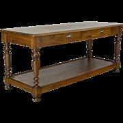 19th c. French Table de Drapier
