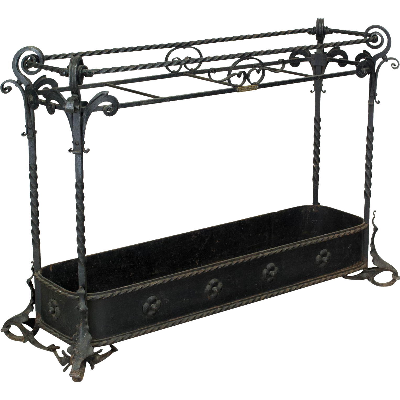 Wrought Iron Umbrella Stand