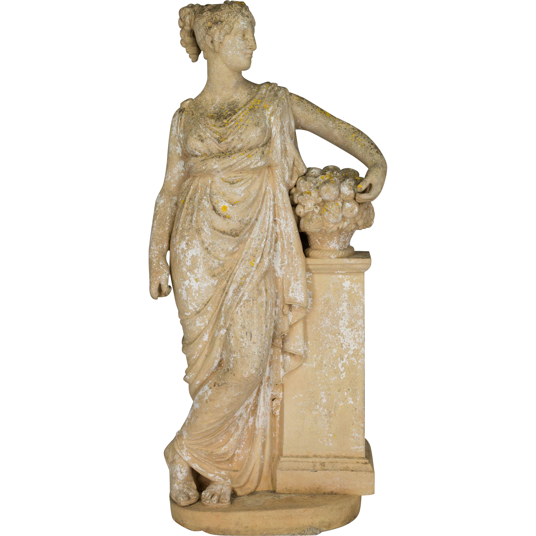 French Neoclassical Garden Statue from ofleury on Ruby Lane