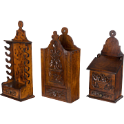 Set of 3 19th c. French Boxes