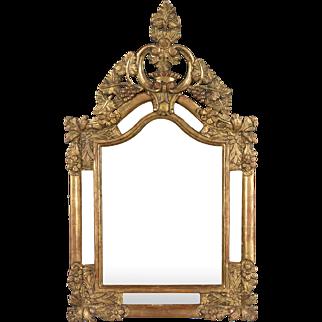 18th c. French Regence Gilt Mirror