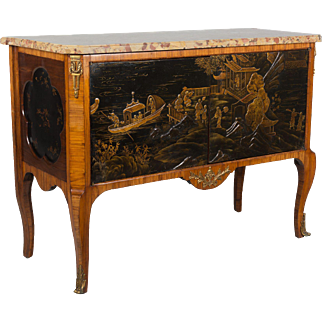 Louis XVI Style Chinoiserie Buffet