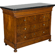 19th c. French Louis Philippe Child's Chest
