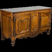 18th c. Louis XV Provençal Enfilade or Sideboard