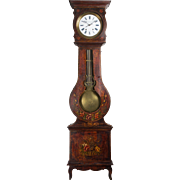 19th Century French Comtoise or Grandfather Clock