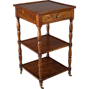 19th c. French Side Table or Etagere