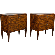 Pair of 18th c. Italian Commodes