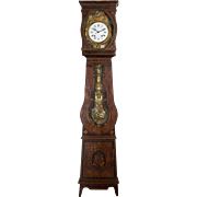 19th c. French Comtoise or Grandfather Clock
