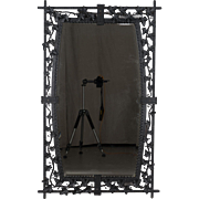 French Wrought Iron Mirror