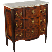 Louis XVI Style Marquetry Commode