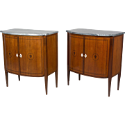 Pair of Art Deco Style French Cabinets