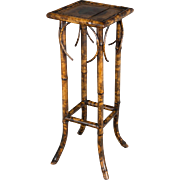 19th c. English Bamboo Plant Stand