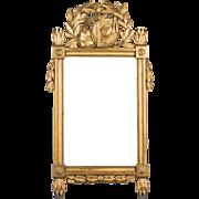 Louis XVI Style Gilded Mirror