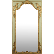18th c. Louis XVI French Trumeau Mirror