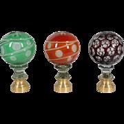 Decorative Glass Ball Finial