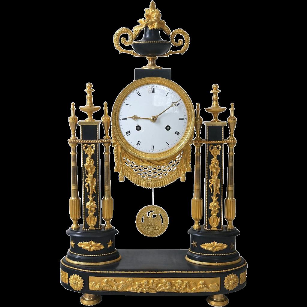 19th Century French Louis XVI Mantel Clock