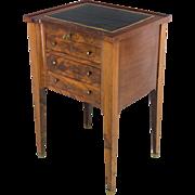 19th c. Louis XVI Style Mahogany Side Table