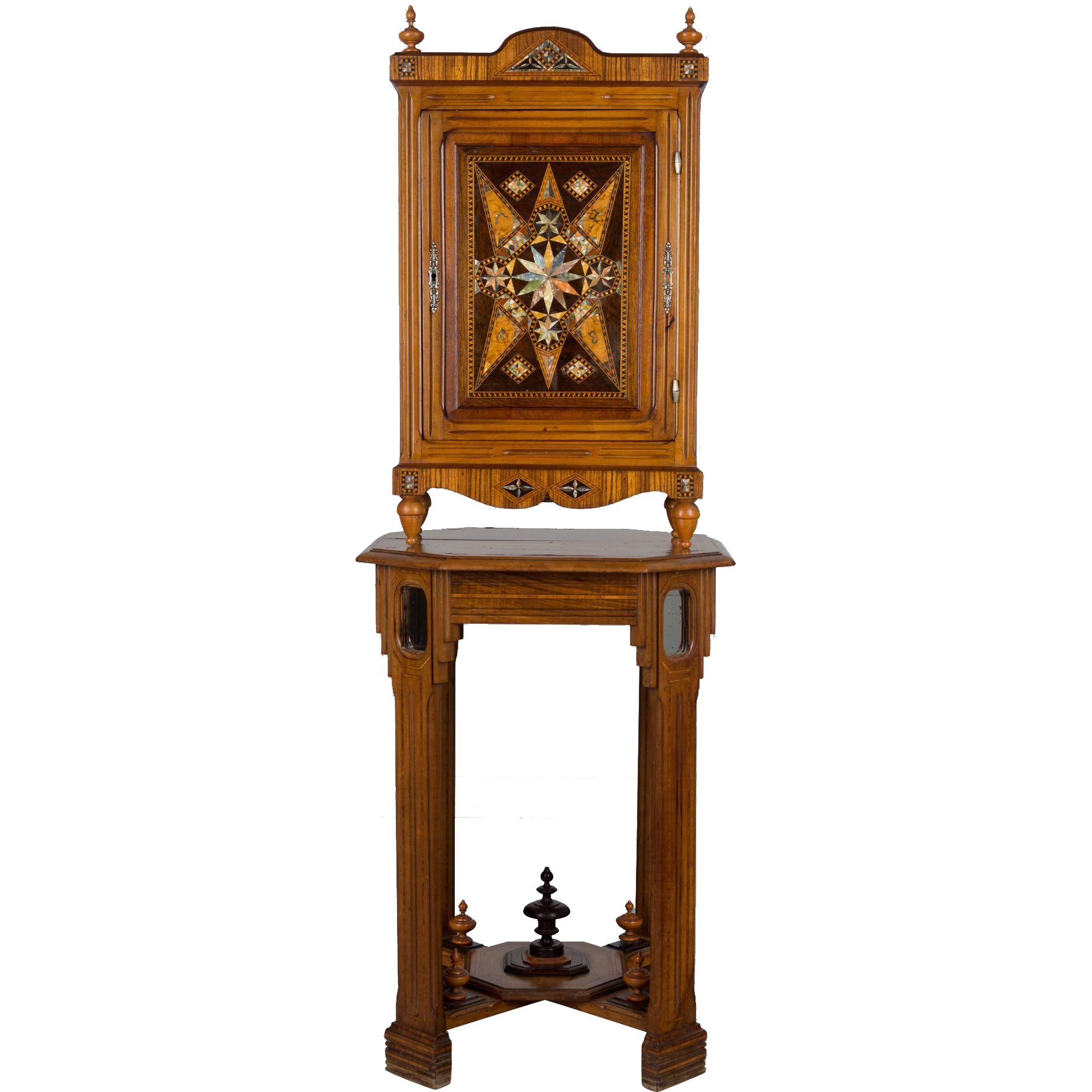 Arts & Crafts Cabinet by French Ebéniste