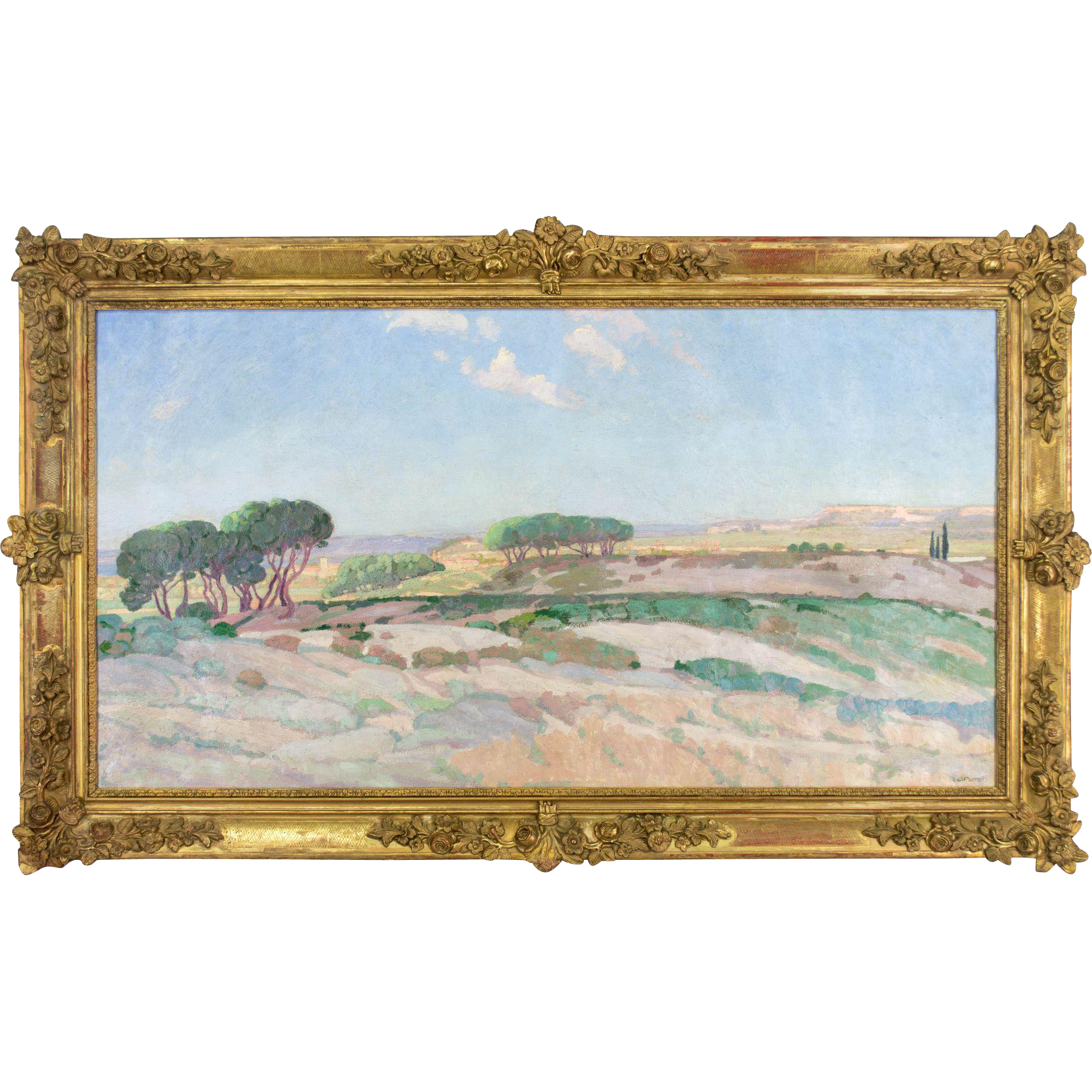 French Impressionist Landscape Painting
