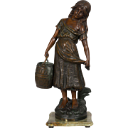 19th c. French Sculpture of Cosette